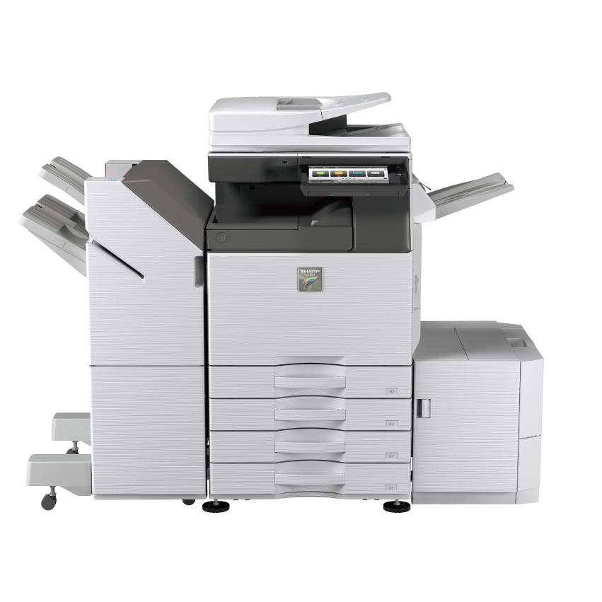 Sharp дополнил линейку цветных МФУ формата А3 Griffin и Phoenix