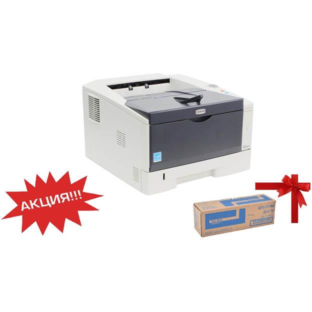При покупке принтера Kyocera P2035d дополнительный оригинальный картридж к нему в подарок